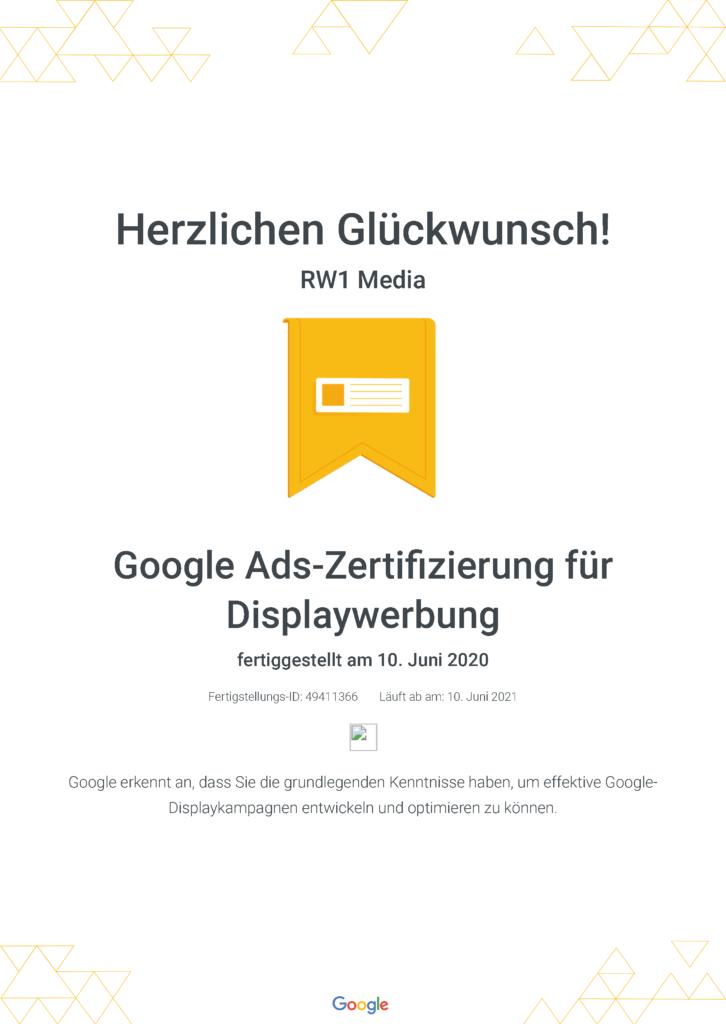 Google Ads-Zertifizierung für Displaywerbung _ Google